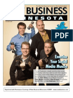 SMCpros on the cover of New Business Minnesota