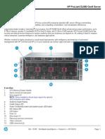 HP ProLiant DL580 Gen9 Server