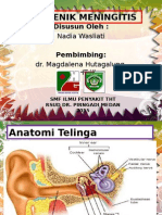 Meningitis Otogenik
