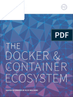 The Docker And Container Ecosystem