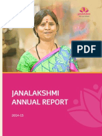 Janalaxmi Annual Report 2014 15