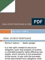 UNC Mortgage Foreclosure