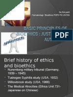 Basic Principles of Bioethics-2014