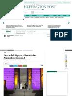 Huffington post Festa Dell Opera Brescia