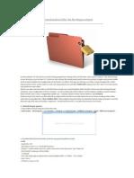 Cara Mengunci Dan Menyembunyikan Folder Dan File Dengan Notepad