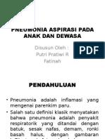 Pneumonia Aspirasi Pada Anak Dan Dewasa Ppt