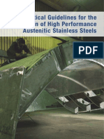 Practical Guidelines for the Fabrication of High Performance Austenitic SS