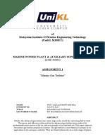 Marine Gas Turbine