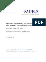 MPRA Paper 58919
