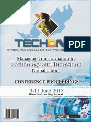 E conference Proceedings Techon2015 Hilton