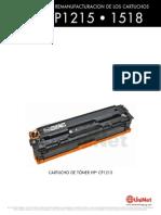 HP CP1215 1518 Reman Span