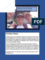 Queens for the King Oct 2015 Newsletter-PDF