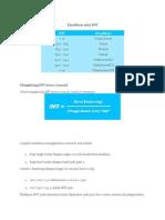 Klasifikasi Nilai IMT & Gangguan Asam Basa Tubuh