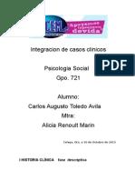 Integracion de Casos Clinicos Charly