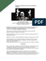 Primer Mensaje Ambiental de La Historia Universal a Los Pueblos y Gobiernos Del Mundo