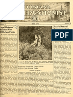 The Louisiana Conservationist magazine May 1943