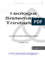 Teologia Sistemática Trinitariana (as Bases Do Monoteísmo Trinitariano)