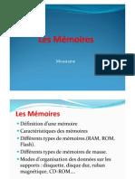 Microsoft PowerPoint - 01 Les Mémoires