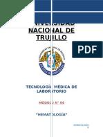 Modulo 04 Hematologia