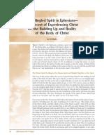 The Mingled Spirit in Ephesians