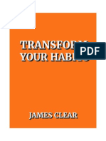 James Clear Transform Your Habits v3