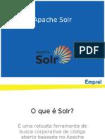 Configuraçãoção Do Solr