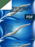 Penatalaksanaan Fisioterapi Pada Spinal Cord Injury