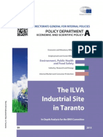 The ILVA Industrial Site in Taranto