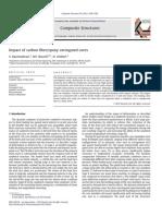 Impact of Carbon Fibre Epoxy Corrugated Cores