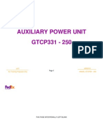 Airbus 49 A300 A310 Auxiliary Power Unit (APU)