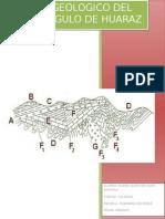 Informe de Corte Geologico Huaraz
