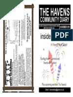 The Havens Community Diary November 2015