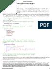 Los Módulos en PowerShell V2