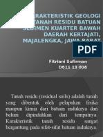 Fitriani Sufirman D611 13 008 GEOTEK 2