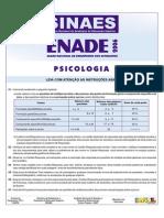 Prova de Psicologiao6