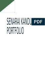 Partition Portfolio Intership