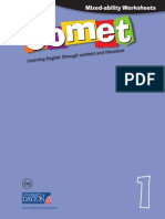 Mixed-Ability Worksheets. Comet 1
