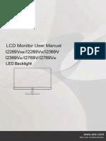 I2369VM AOC Monitor Manual