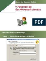 8. Importar Microsoft Access
