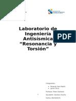 Informe 1 Antisismica