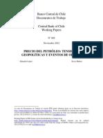 Precios Del Petróleo Tensiones Geopoliticas y de Oferta