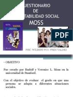 Cuestionario de Adaptabilidad Social Moss