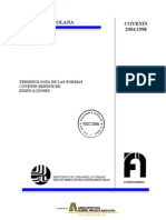 Covenin 2004-1998 Terminologia Normas Covenin-Mindur de Edificaciones