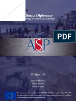 Climate Diplomacy - A Strategy for American Leadership
