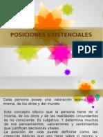 POSICIONES EXISTENCIALES