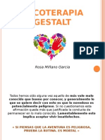 Psicoterapia Gestalt - Rosa Miñano