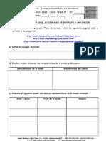 TEMA VII (1º ESO) ACTIVIDADES DE REFUERZO Y AMPLIACIÓN
