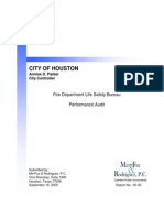 Fire-Life Safety Bureau Performance Audit