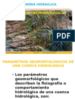 4. PARAMETROS GEOMORFOLOGICOS