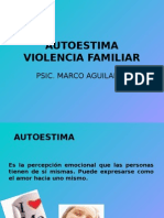 Autoestima Violencia Familiar